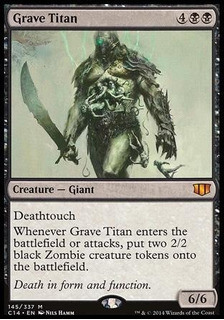Card Magic Titã Do Túmulo / Grave Titan / Ingles