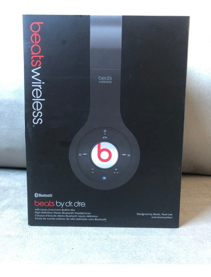 Headphone Beats Wireless - Fone De Ouvido