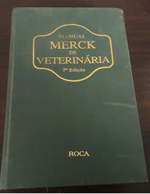 Livro Manual Merk De Veterinaria