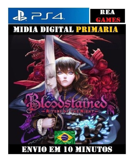 Bloodstained: Ritual Of The Night Ps4 Digital 1 Original