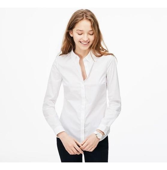 Camisa Lacoste Feminina- Slim Fit