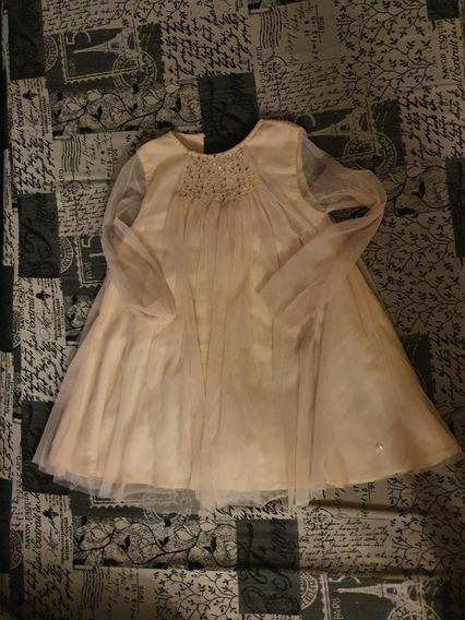 Hermoso Vestido De Fiesta Little Akiabara Kids Talle 6!!!