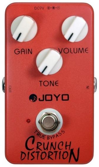 Pedal Joyo Crunch Distortion   Jf 03   Para Guitarra