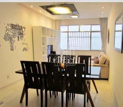 Apartamento Residencial À Venda, Icaraí, Niterói. - Ap2222