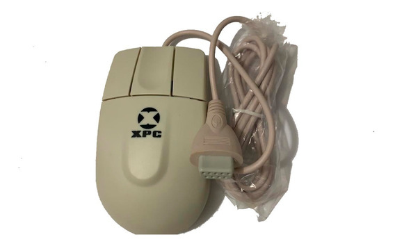 Mouse Serial 3 Botoes Xpc Branco 4210 Leadership S/ Scroll