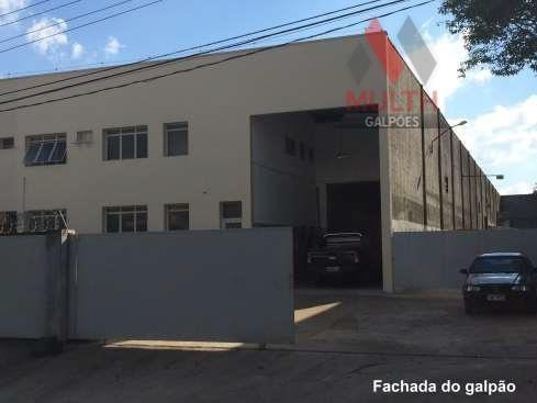Galpão Industrial Para Locação, Parque Industrial Taboão Da Serra, Taboão Da Serra. - Ga0158