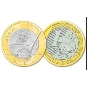 Moedas - Olimpíadas / Comemorativa Banco Central 40 Anos