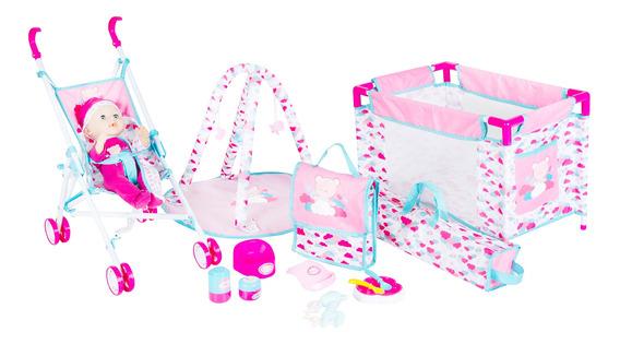 Set Coche Muñecas 13 En 1 Infanti Toys