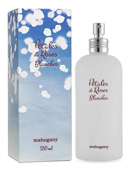 Mahogany Fragrância Pétales De Roses Blanche 250ml + Brinde