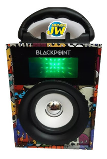 Parlante Portatil Bluetooth Black Point By Panacom S20