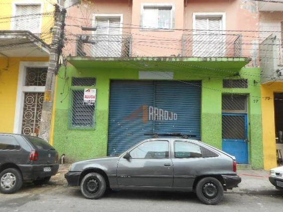 Salão Para Alugar - Brás - São Paulo/sp - Sl0043