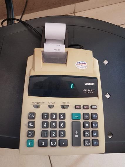 Calculadora Fita Casio Fr2650 (com Defeito)