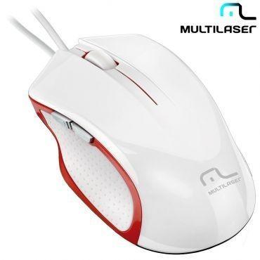 Mouse X-gamer Laser Alta Performance Usb 6 Botões - Mo202 M