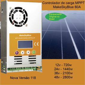 Controlador De Carga Mppt 60a Makeskyblue [v118 Original]