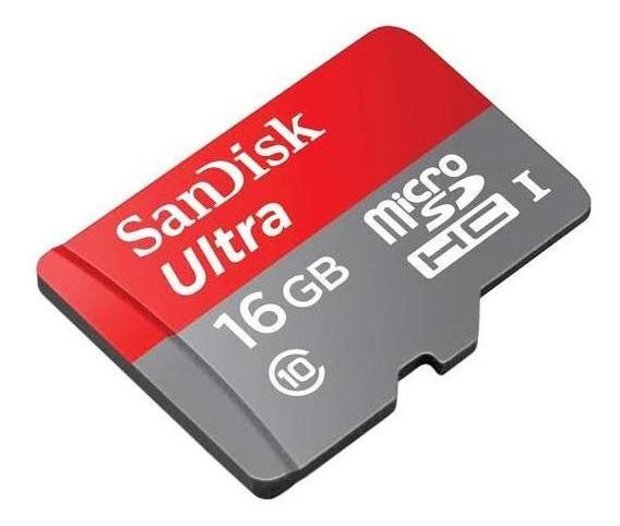 Cartão Memória Sandisk Ultra 16gb