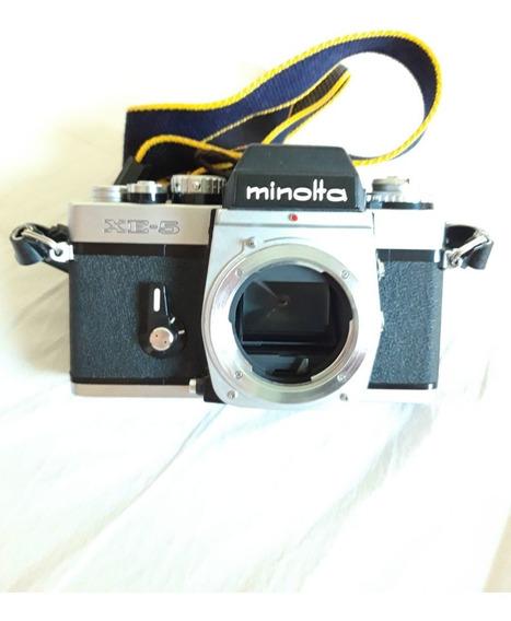Minolta Xe-5 Analógica