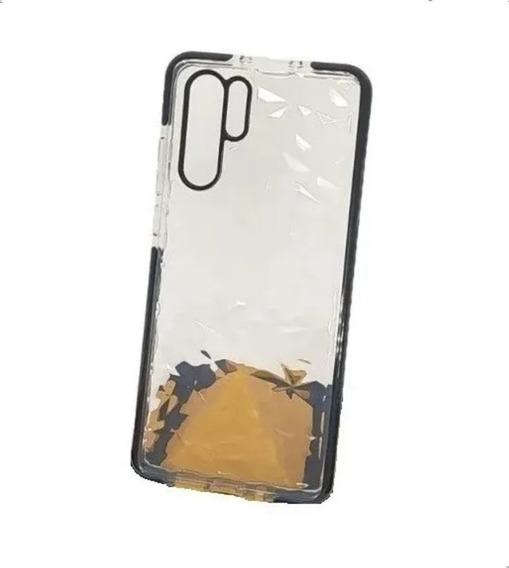 Funda Diamantes 3d O Espejo Airbag Para iPhone Galaxy O Huawei Gruesa Relieve Resistente Uso Rudo Hombre Mujer Dama Case