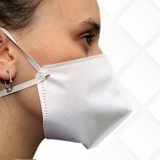 Kit Com 5 Mascaras Proteção Tnt 60g Triplo Lavável