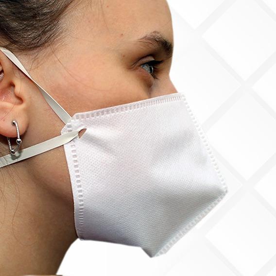 Kit Com 10 Mascaras Proteção Rosto Tnt 60g Triplo Lavável