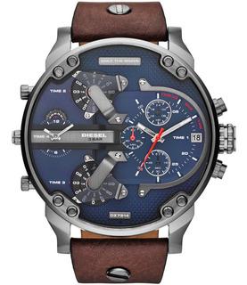 Reloj Diesel Leather Brown Mr Daddy 2.0