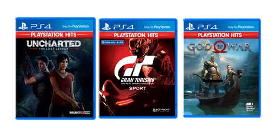 Kit 2 Jogos Ps4 Exclusivos - Uncharted Collection - Infamous