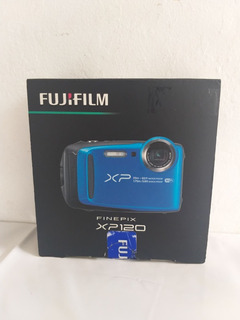 Camara Digital Fujifilm Finepix Xp120 Azul