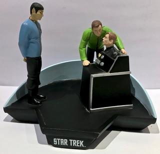 Star Trek Diorama Figuras Kirk Spock Applause 1997 Coleccion