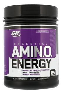 Amino Energy 65 Tomas 585 Grs Optimum Nutrition Importado