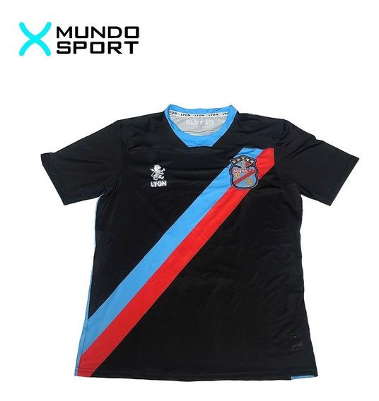 Camiseta De Arsenal De Sarandi Alternativa Negra Con Numero
