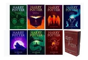 Coleção Harry Potter (7 Livros) Capa Dura + Brinde
