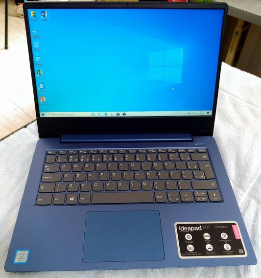 Notebook I5 8° Geração Lenovo 8gb Ddr4 Impecável Tela 180º