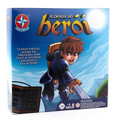 Jogo De Tabuleiro Board Game A Lenda Do Herói Estrela
