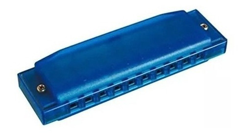 Armonica Parquer Plastico Azul 10 Celdas En Do Cuota