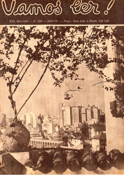Vamos Ler 1947 Rio De Janeiro Muralha China Joaquim Nabuco