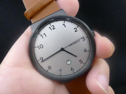 Relógio Masculino Skagen Skw6297 Pulseira De Couro