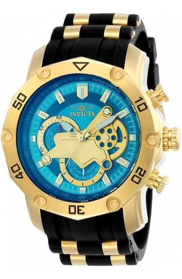Relógio Invicta 23426 Banhado Ouro 18k