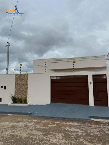 Casa Com 3 Dormitórios À Venda, 118 M² Por R$ 285.000,00 - Loteamento Residencial Verona - Anápolis/go - Ca1712