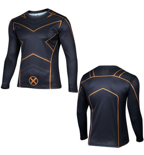 Camiseta X-men Deportiva Xl Tipo Dry Fit Leer Descripcion