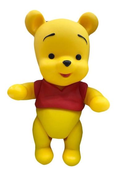 Ursinho Pooh Boneco Vinil Turma Do Pooh 24cm Original