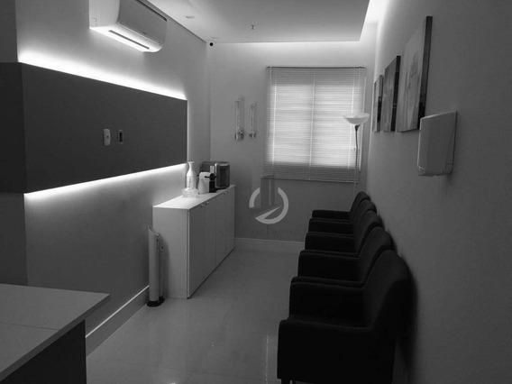 Linda Sala Comercial - Pronta Para Uso - 38m² - 1 Vaga - Sa0041