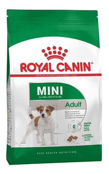 Ração Royal Canin Mini Adult Size Health Nutrition cachorro adulto raça pequena 7.5kg
