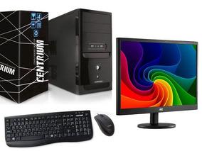 Computador G4900 4gb Ddr4 500gb+monitor Aoc E9700swnl 18,5