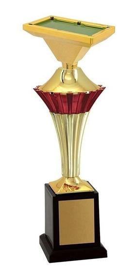 Troféu De Snooker-sinuca Snk1109 32,3 / 27,3 / 22,3cm