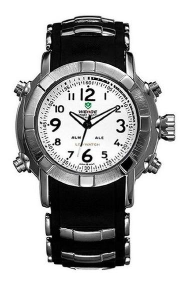 Relógio Masculino Anadigital 1106 Weide Iluminação Led