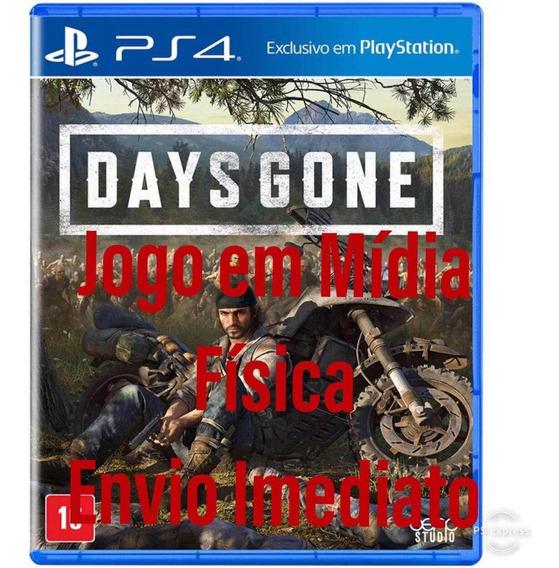 Days Gone Ps4 Mídia Física + Dlc De Lançamento