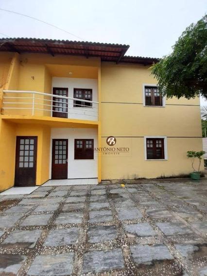 Casa Com 2 Dormitórios Para Alugar, 92 M² Por R$ 750,00/mês - Lagoa Redonda - Fortaleza/ce - Ca0182