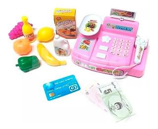 Caja Registradora Infantil Luz Y Sonido Juguete
