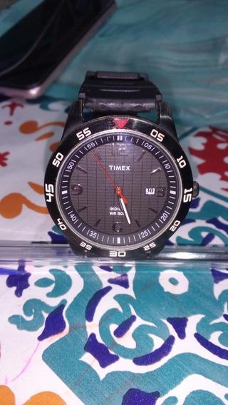 Timex Relógio Masculino Esportivo Original Indiglo Wr50m