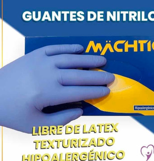 Guante Nitrilo Alta Resistencia Colores Pack 2 Cajas