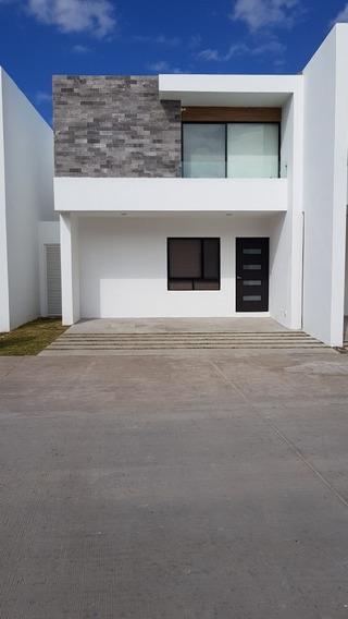 Casa Totalmente Nueva En Privada